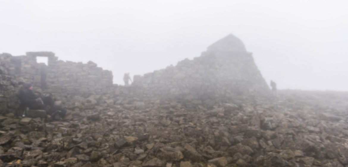Memorial remains on summit of Ben Nevis