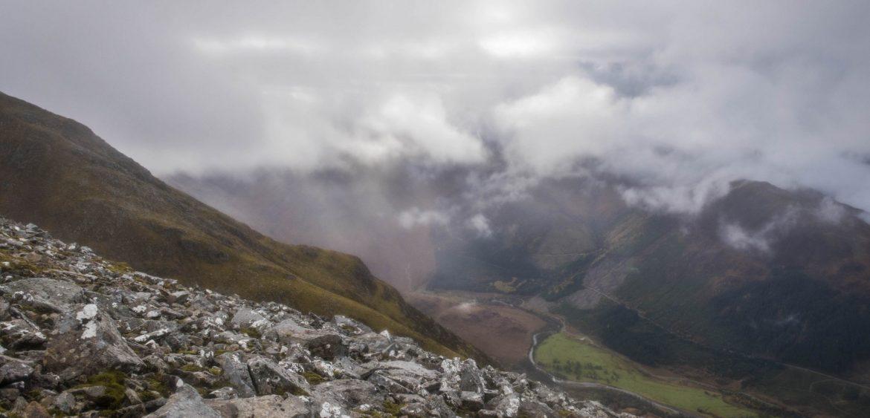 Descending Ben Nevis