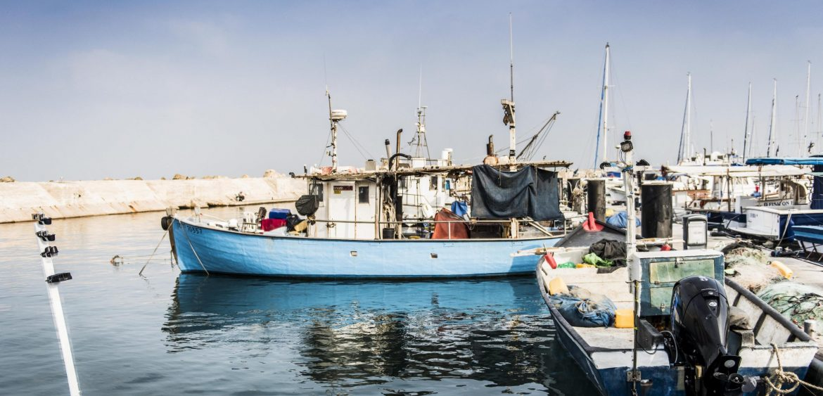Boats at Jaffa Port