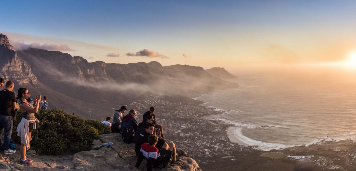 Lion's Head hike, Cape Town
