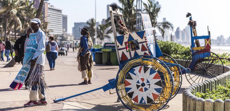 Rickshaws, Durban promenade